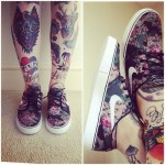 Awesome leg tattoos