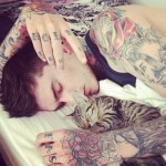 cute men arm tattoo