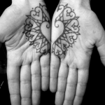 hand tattoo idea