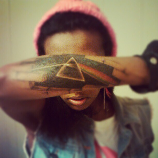 Amazing Pink Floyd tattoo