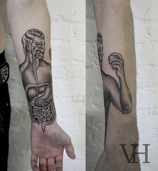 Anatomical tattoo