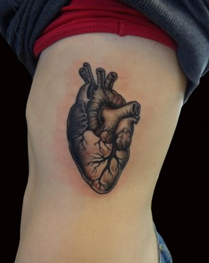Another amazing heart tattoo