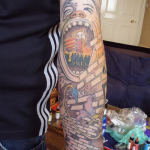 Cool arm tattoo for men