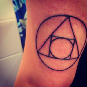 Cool symbols tattoo