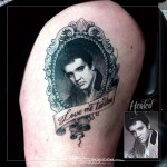 Elvis Presley tattoo