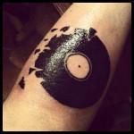 Vynil tattoo