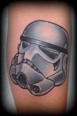 Darth tattoo
