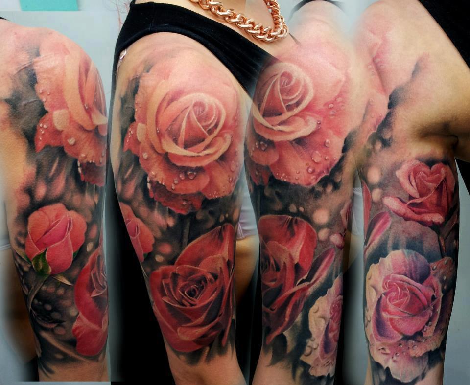 Amazingly realistic roses