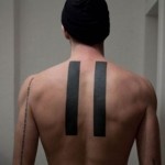 Equals back tattoo