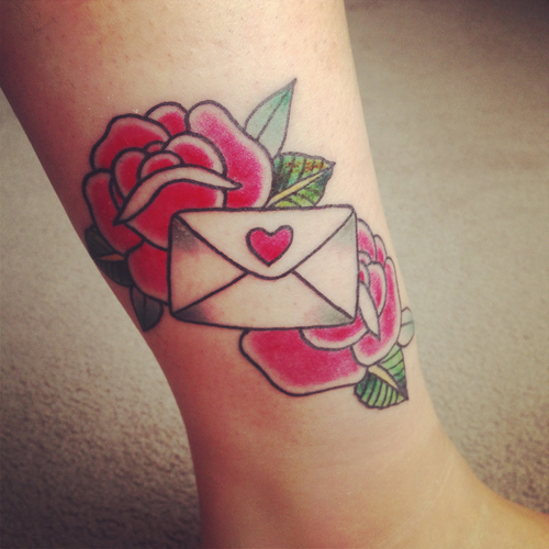 Love letter | Best tattoo design ideas