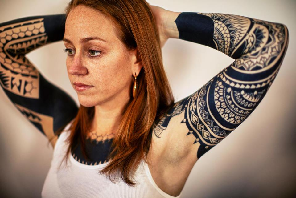 Nice girl arm tattoo