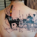 Abstract tattoo by Xoil