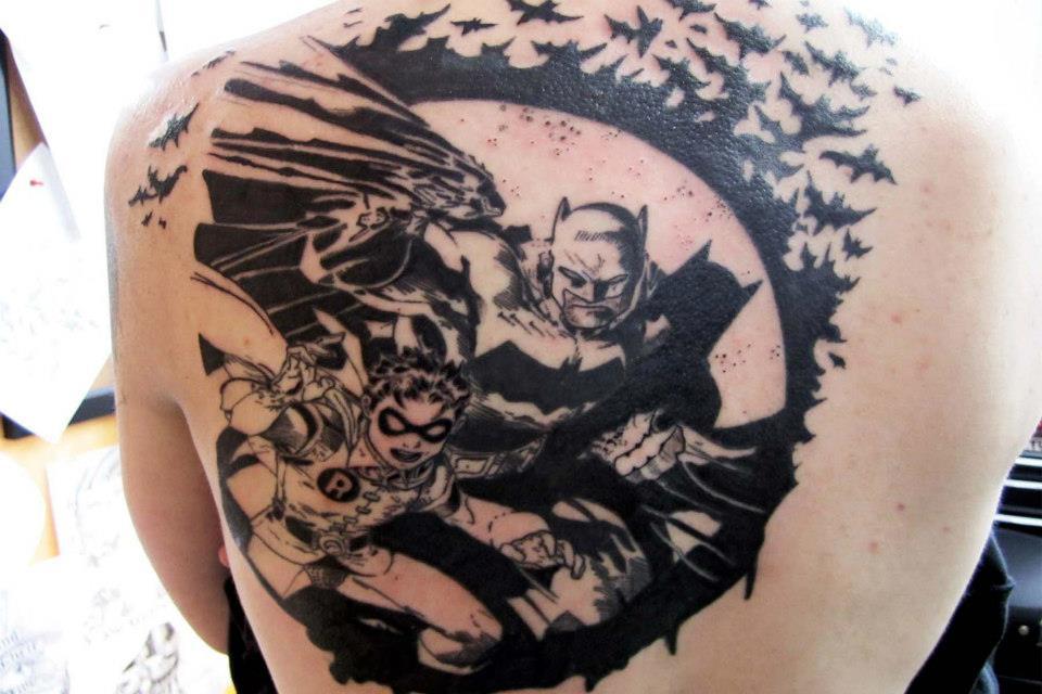 batman tattoos on pinterest batman tattoo batman and jokers. Black Bedroom Furniture Sets. Home Design Ideas