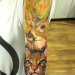Awesome animal sleeve