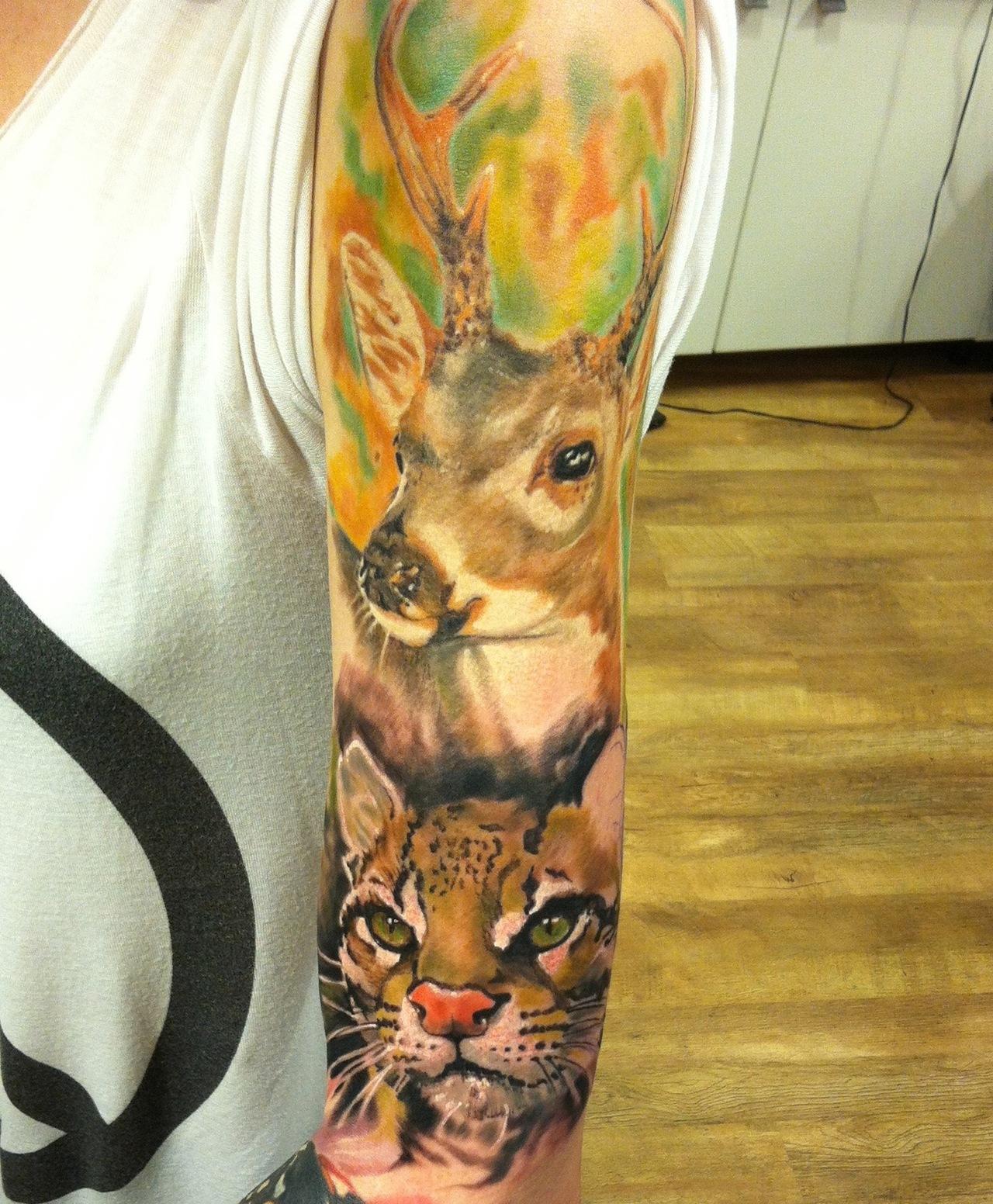 Awesome animal sleeve