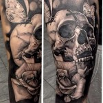 Awesome skull ink