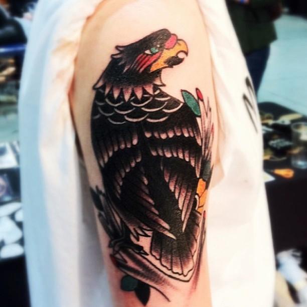 Cool eagle tattoo