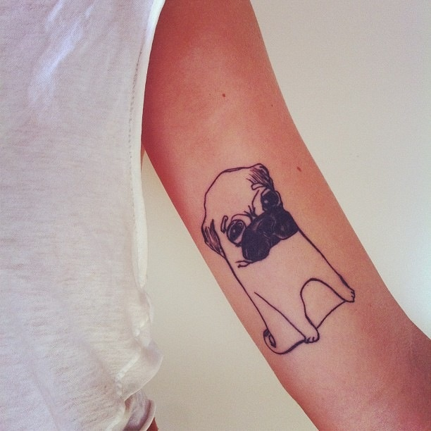 Cute doggy tattoo
