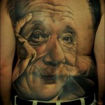 Einstein tattoo