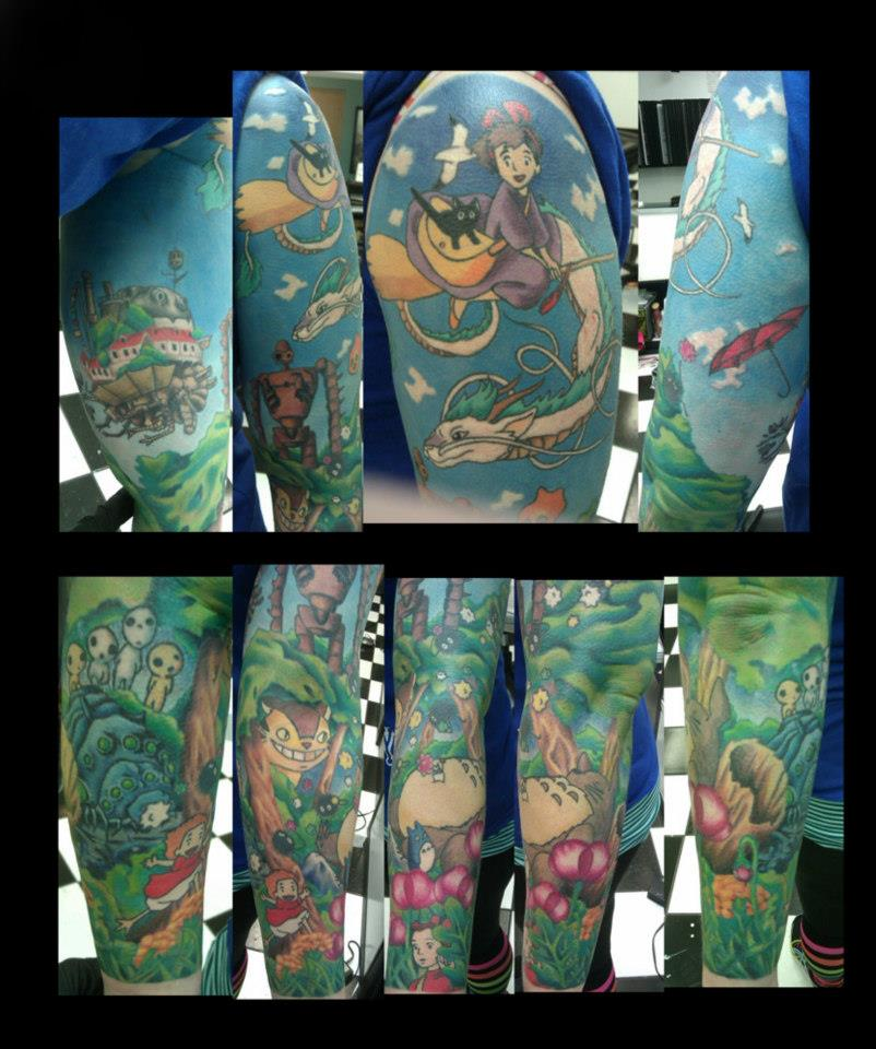Full anime sleeve