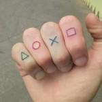 Gamer tattoo
