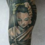 Geysha tattoo