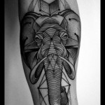 Graphic elephant
