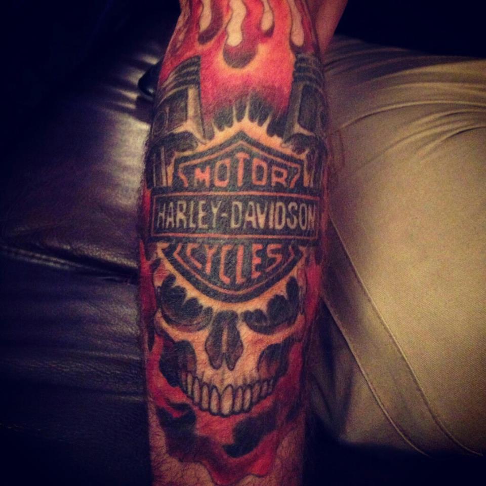 Harley Davidson Tattoo  Best Design Ideas