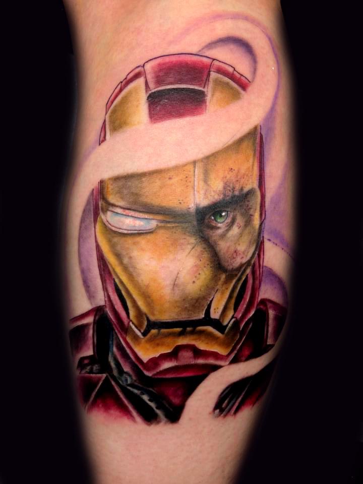 Ironman tattoo | Best tattoo ideas & designs