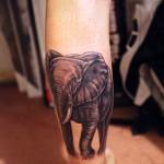 Nice elephant tattoo