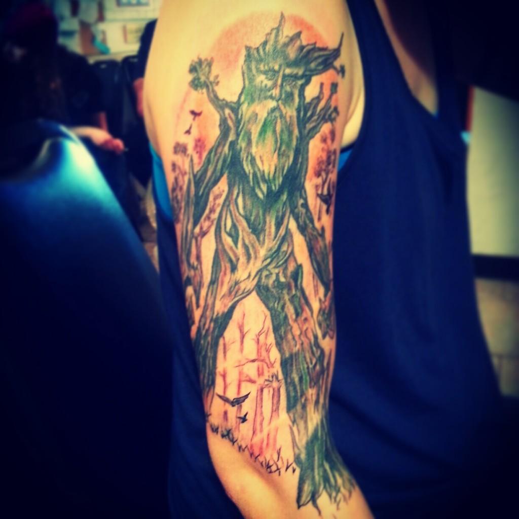 Nice sleeve tattoo