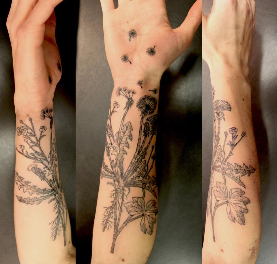 Dandelion Tattoos Design 70