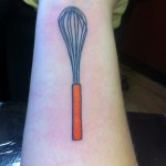 whisk tattoo