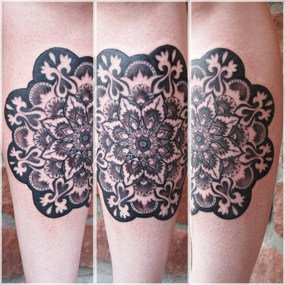 Amazing stylized pattern