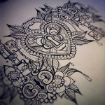 Amazing tattoo sketch!