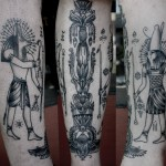 Ancient Egypt tattoo