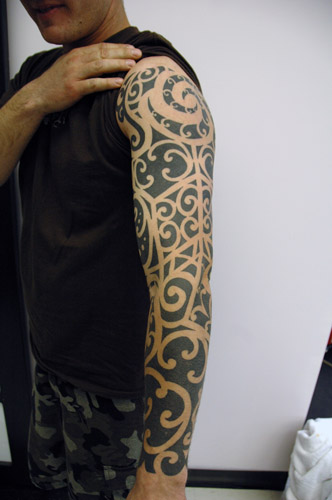 Awesome tribal sleeve