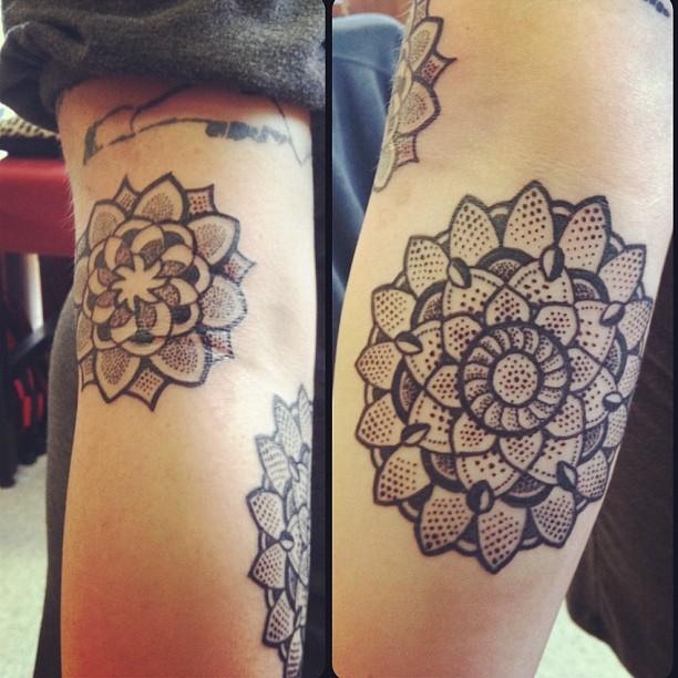 Tattoo Ideas Us: Beautiful Flowers Tattoos