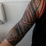 Black sleeve ink