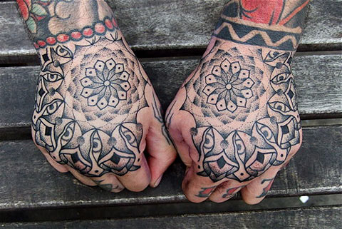 Cool hands tattoos