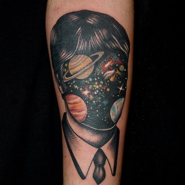 Cosmic Tattoo By Pietro Sedda