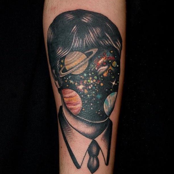 Cosmic Tattoo By Pietro Sedda
