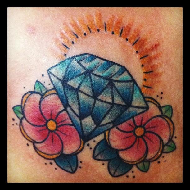 diamond tattoo designs ideas - photo #32