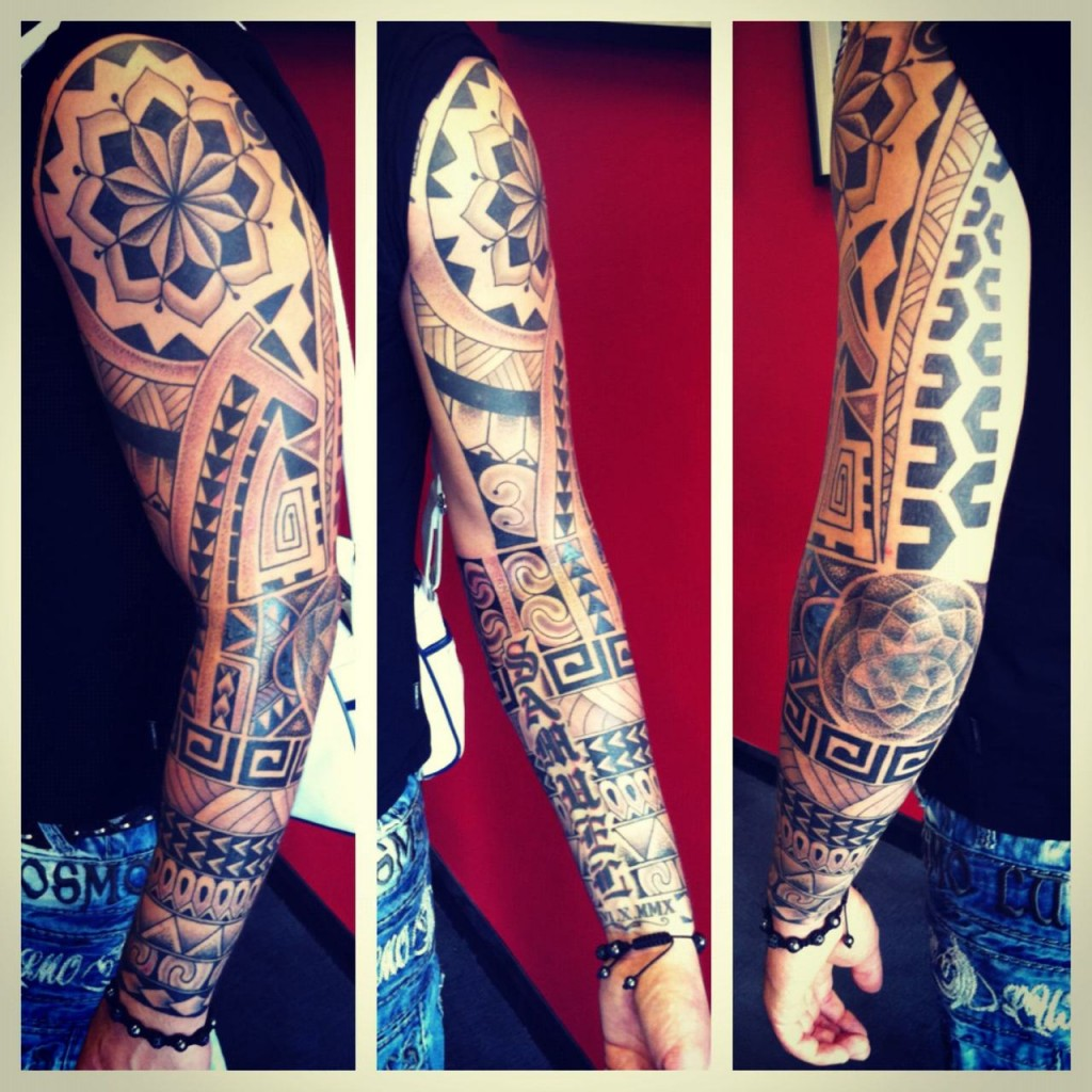 Full arm pattern
