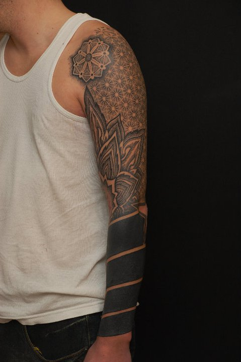 Full black sleeve