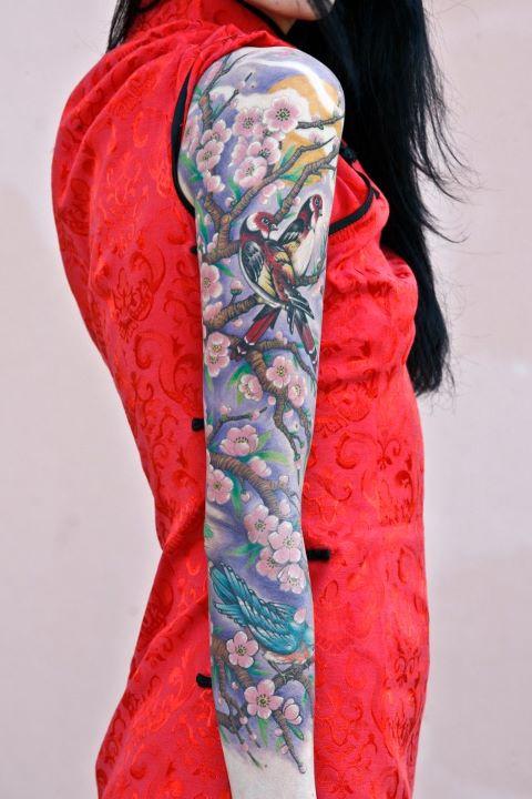 Geysha's tattoo