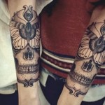 Great skull tattoos