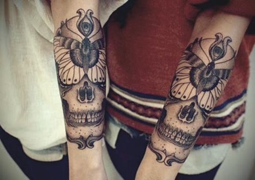 great skull tattoos best tattoo design ideas. Black Bedroom Furniture Sets. Home Design Ideas