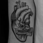 Opened heart