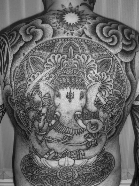 Super awesome Hindu style tat